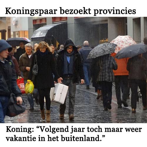 Net als de rest van Nederland.